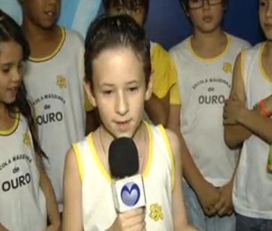 Tv Morrinhos e colégio local fazem homenagem ao dia dos Pais com várias crianças da cidade | Goiás News: Notícias para o Sul Goiano 24hs