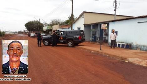 Comerciante de 73 anos reage a assalto em Jataí e mata homem | Goiás News: Notícias para o Sul Goiano 24hs